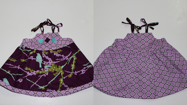 reversible Baby Dress tutorial