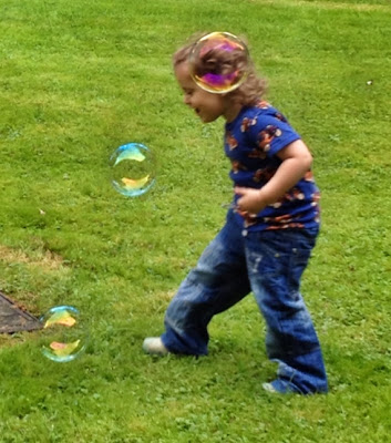 Day 217 of The 366 Project, bubbles, toddler, fun