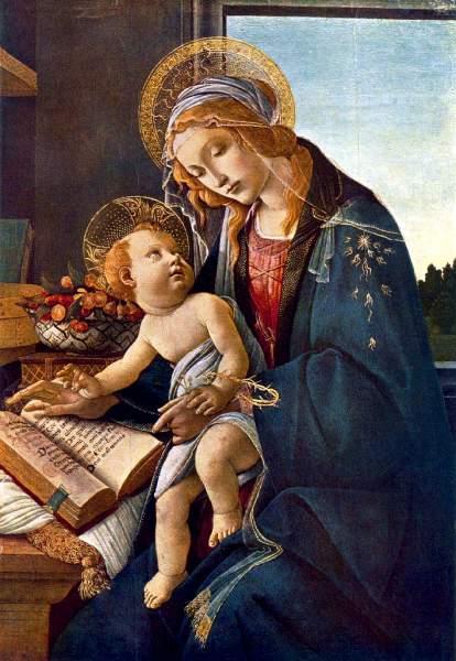La Virgen María y el niño Jesús | Compartiendo por amor