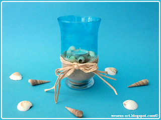 BeachTeaLight wesens-art.blogspot.com