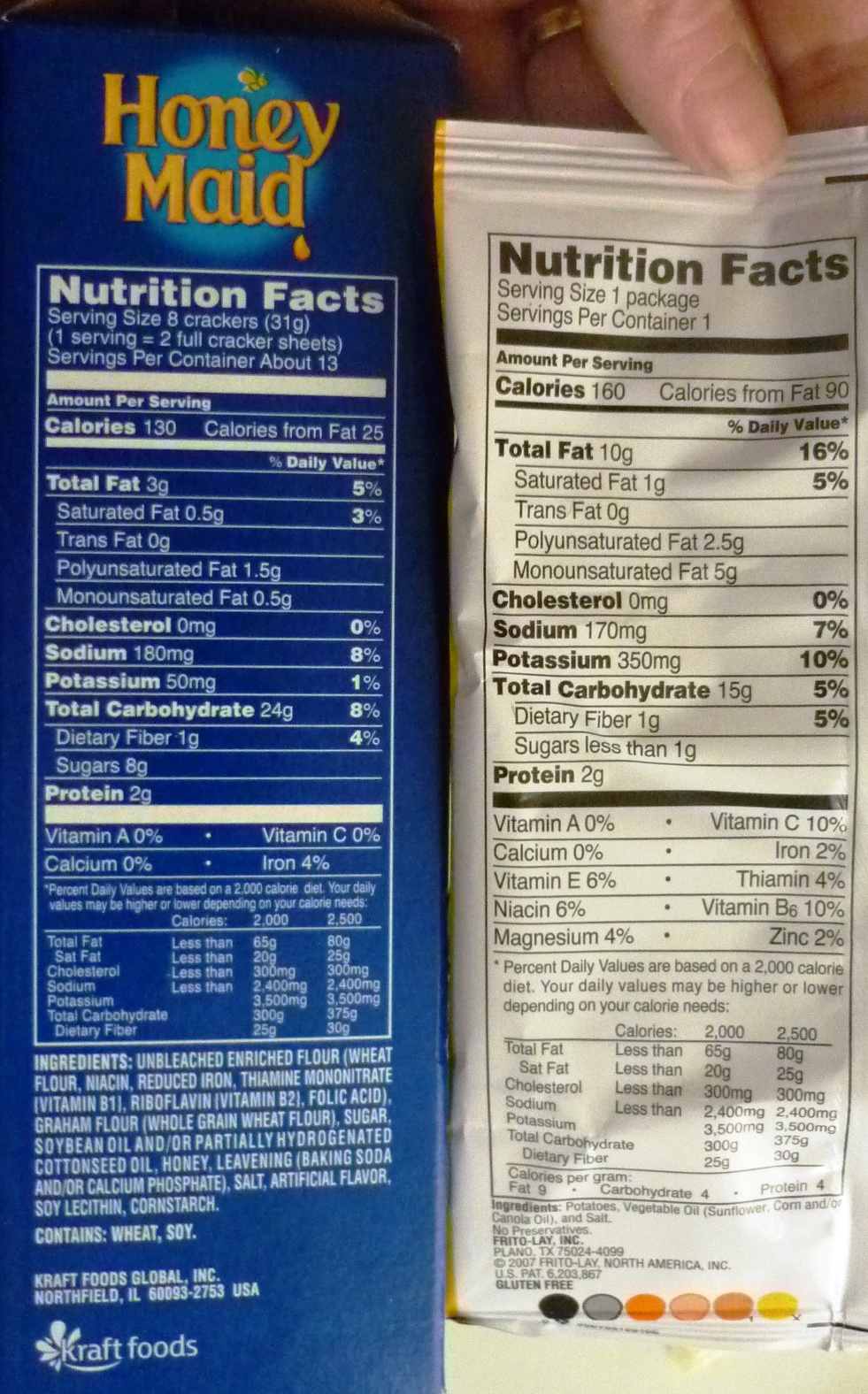 how to make nutrition facts from recipe