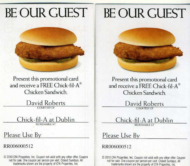 Www chick fil a com coupons