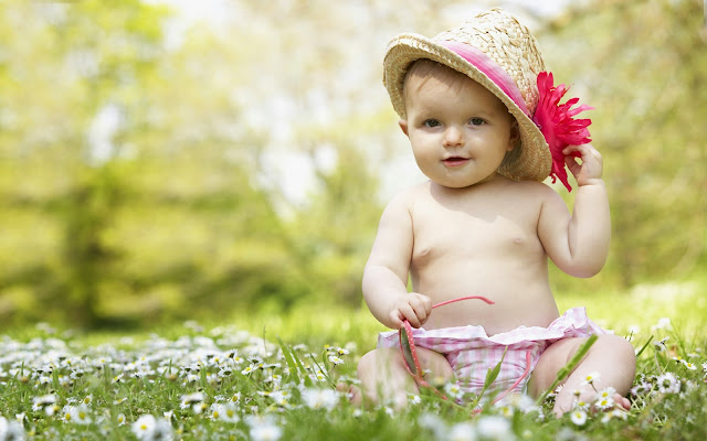 11345-Baby With Hat and Glasses HD Wallpaperz