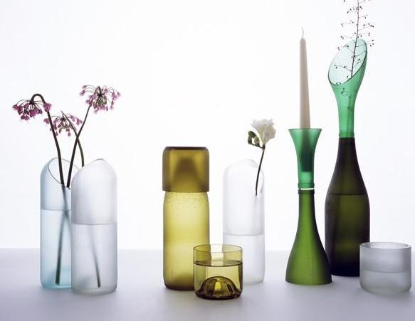 La Chica del Maletín: Corta botellas de cristal y decora