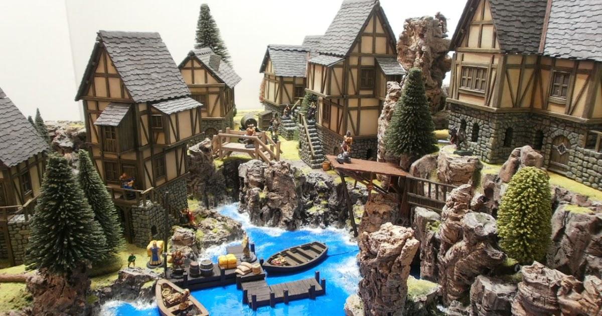 Dungeons 3d  Castle Arts Medieval Village