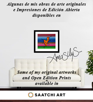 Mi arte en / My art in SAATCHI ART