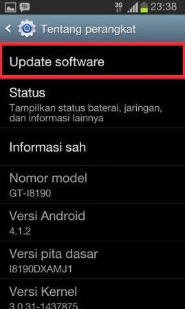 Update Software Android Cara Upgrade OS Android ke Versi Terbaru