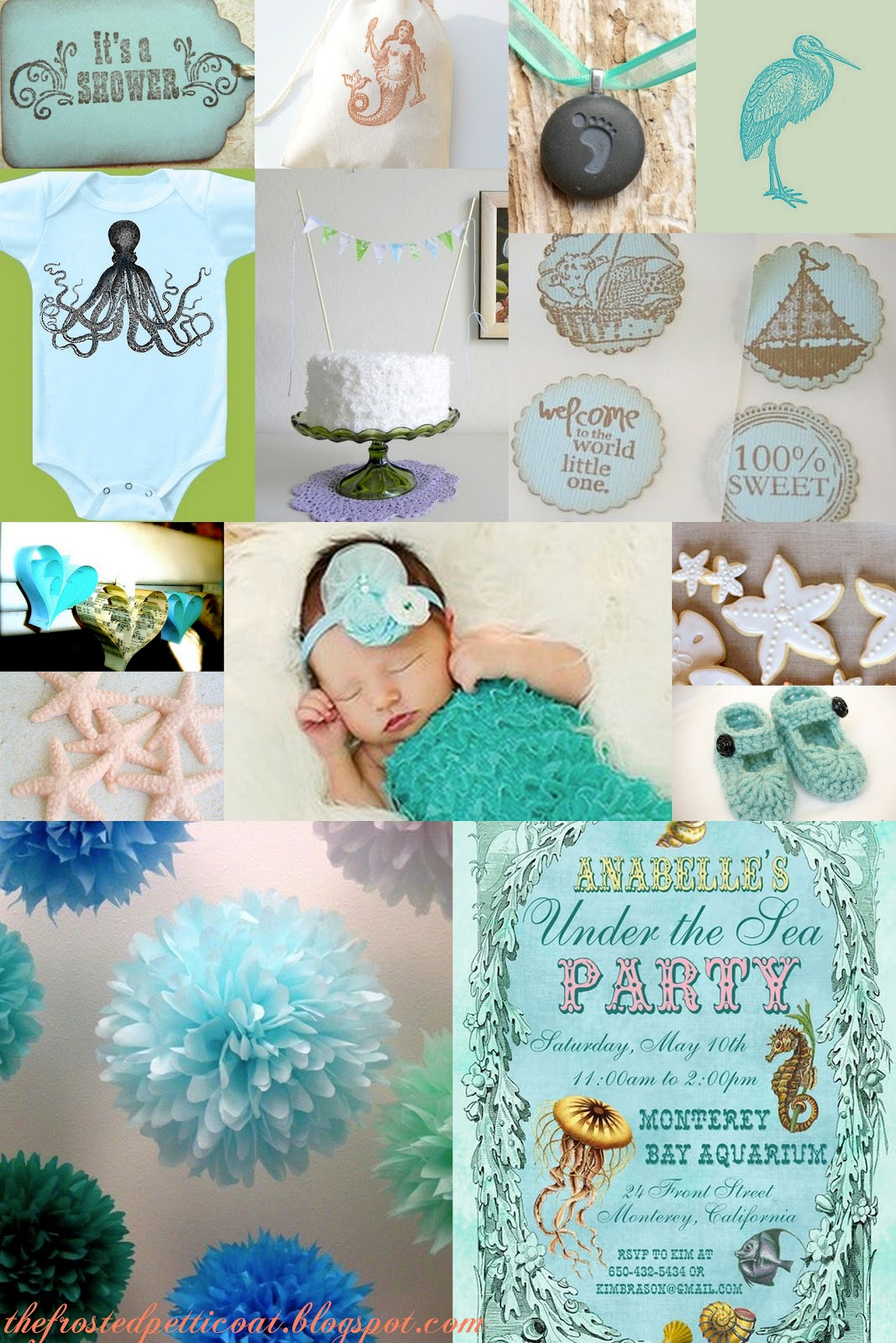 little mermaid wedding theme an ocean themed baby