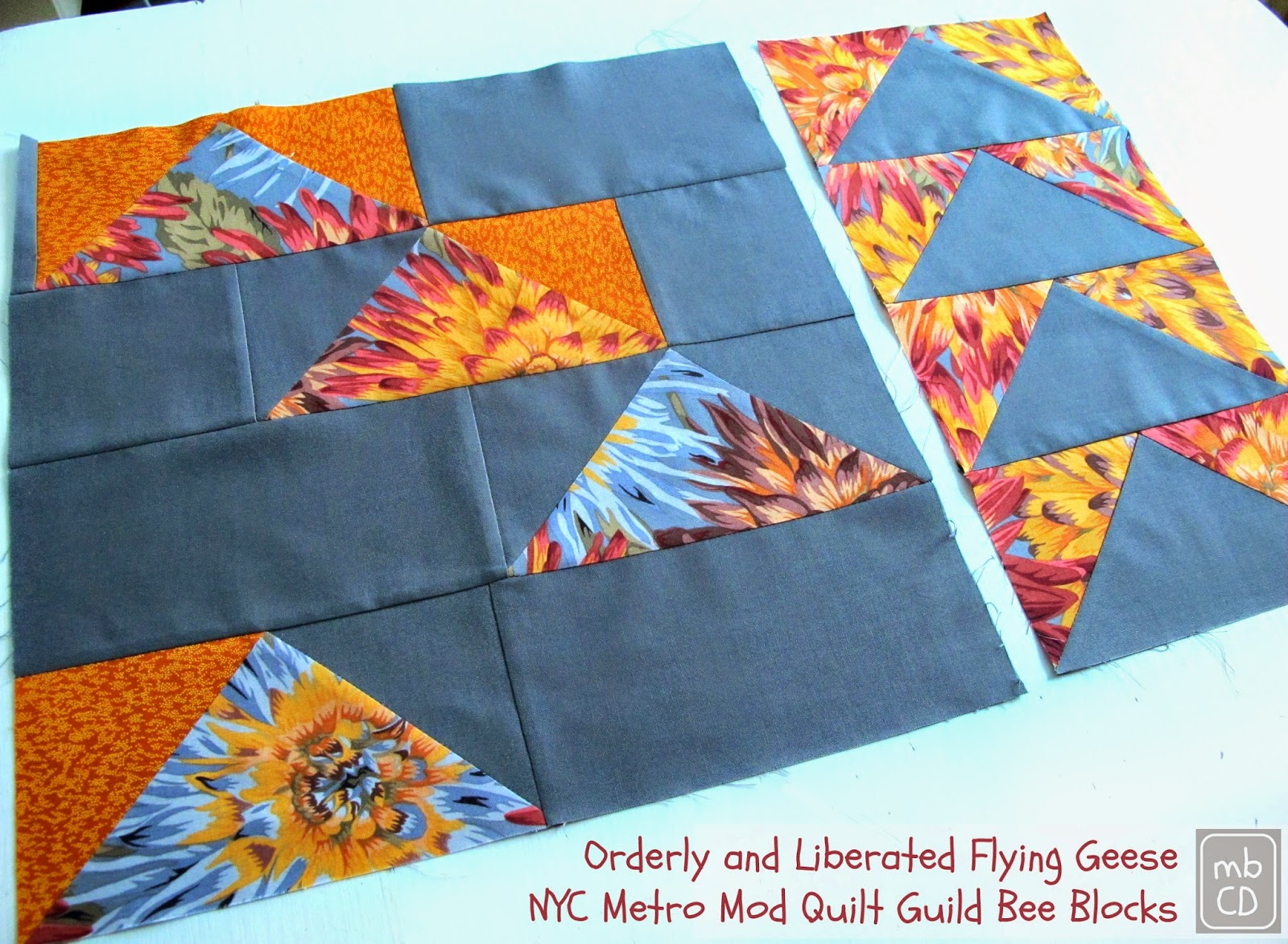 Chris Dodsley @mbCD: Orderly and Liberated Flying Geese - NYC ... : mod quilt - Adamdwight.com