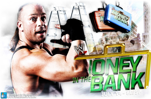 "Download ""Money In The Bank 2013"" Un-Official Wallpaper (feat. Rob Van Dam) - Designed By Bhabani"