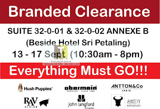Branded Clearance Sale 2012