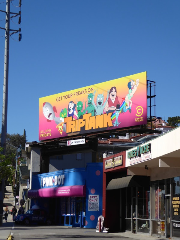 TripTank season 2 billboard Sunset Strip