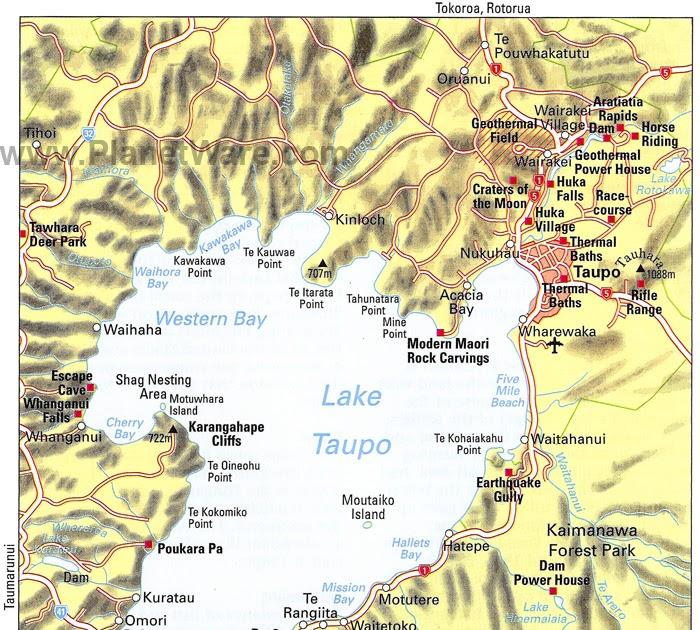 new zealand political map pdf