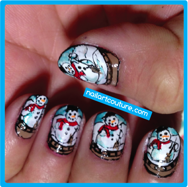 Nail Art Couture December 2012