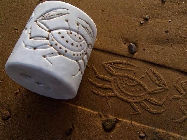 Ahmad Nadalian Sand Prints
