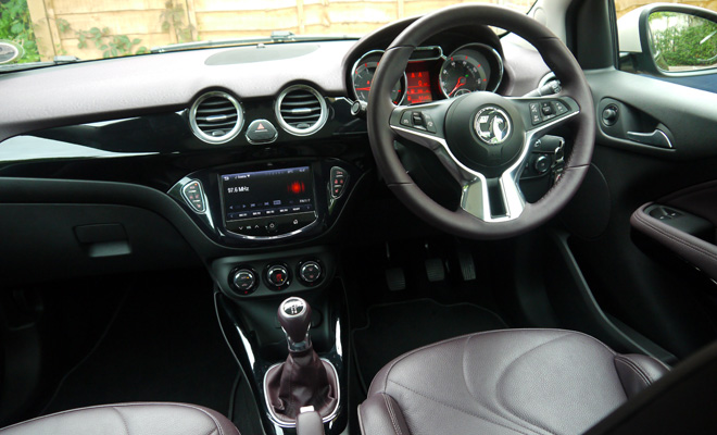 Vauxhall Adam interior