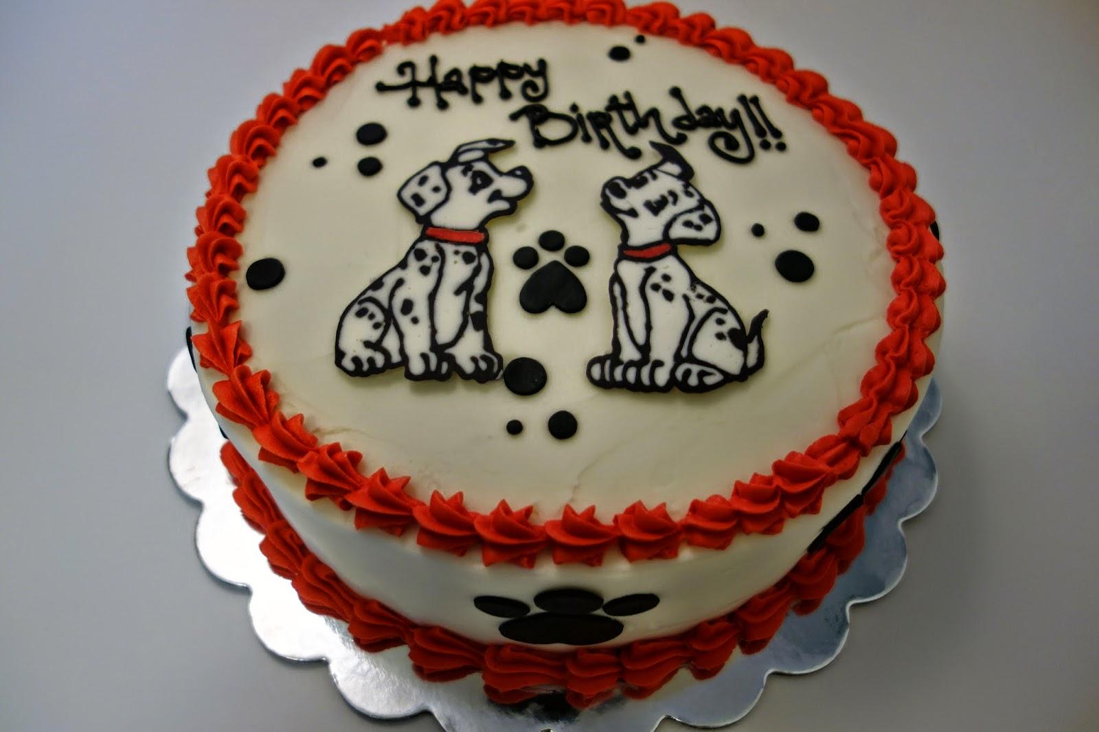 101 Dalmatians Birthday Cake Candy Coated