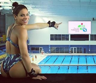 A morena integra atualmente o time de saltadores do clube Fluminense, no Rio de Janeiro. Ingrid conquistou a chance de disputar o Pan depois de faturar a medalha de ouro no 3º dia do Troféu Brasil de Saltos Ornamentais.