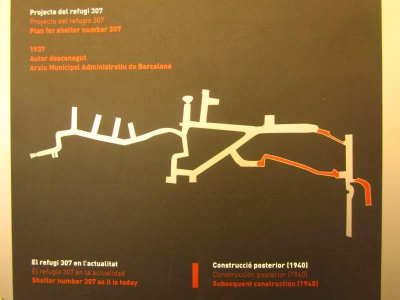 Plan for Refugi 307 in Barcelona