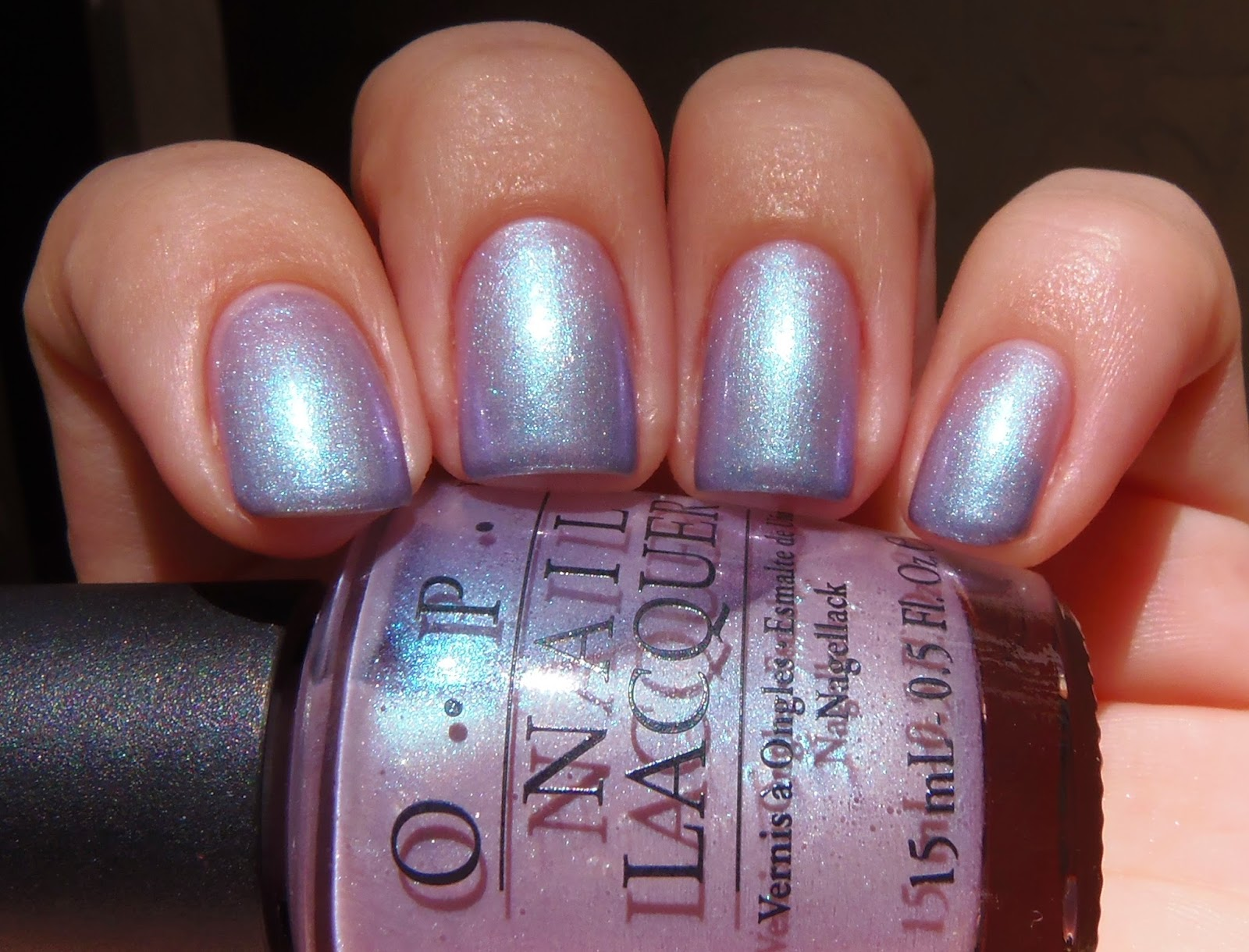 Sparkly Vernis: OPI Yokohama Twilight is a sheer light pink with ...