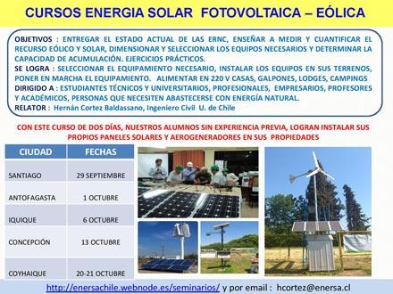cursos energia solar eolica