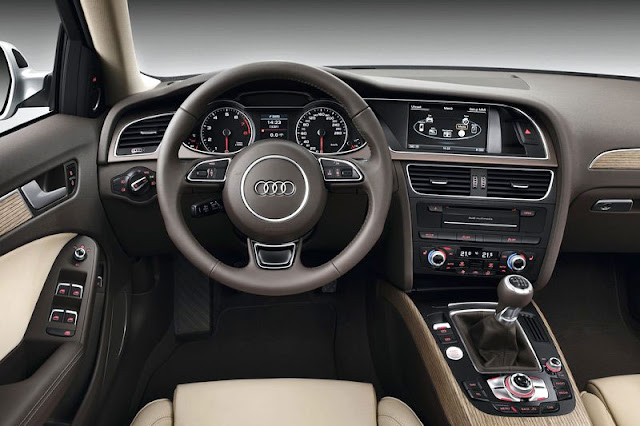 2013 Audi A4 Saloon Front-rear Interior