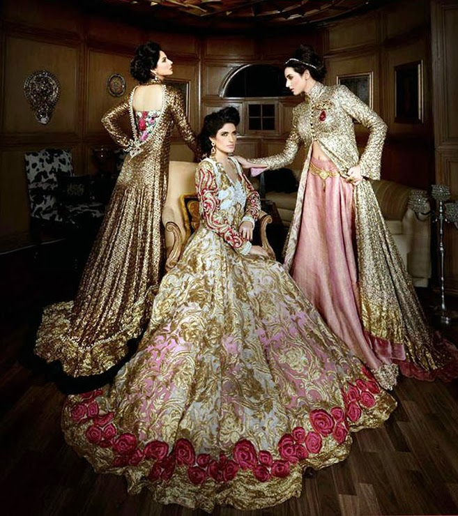 Bridal wear inspiration at bridal asia asian wedding ideas for Asian wedding bed decoration ideas