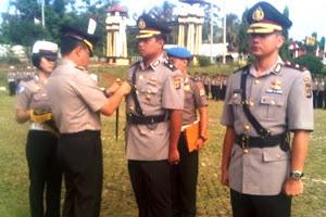 Sertijab Wakapolres. Kotabumi Lampung Utara