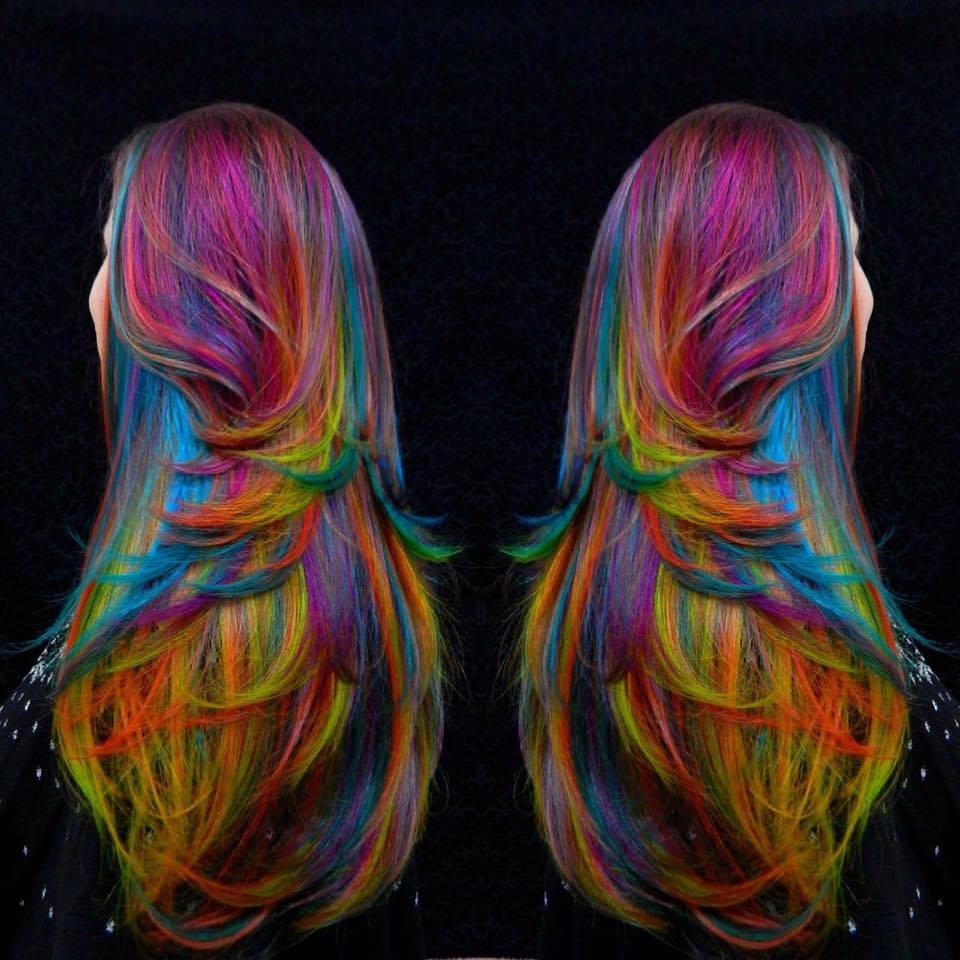 Art color hair - Art Color Hair 55