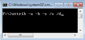 Cara Memperbaiki Flash Disk Rusak dengan Command Prompt Attrib