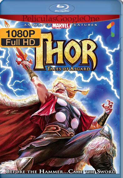Thor: Tales of Asgard (2011) BRRip [1080p] [Latino] [GoogleDrive]