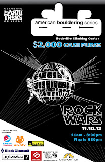 Earthtreks Rock Wars Competition Poster 2012