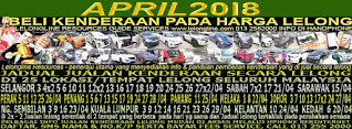 1-30/04/2018 - JUALAN KENDERAAN LELONG SELURUH MALAYSIA & SEKITAR KLANG VALLEY-SGR/K L