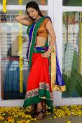 Santoshi sharma half saree pics-thumbnail-2