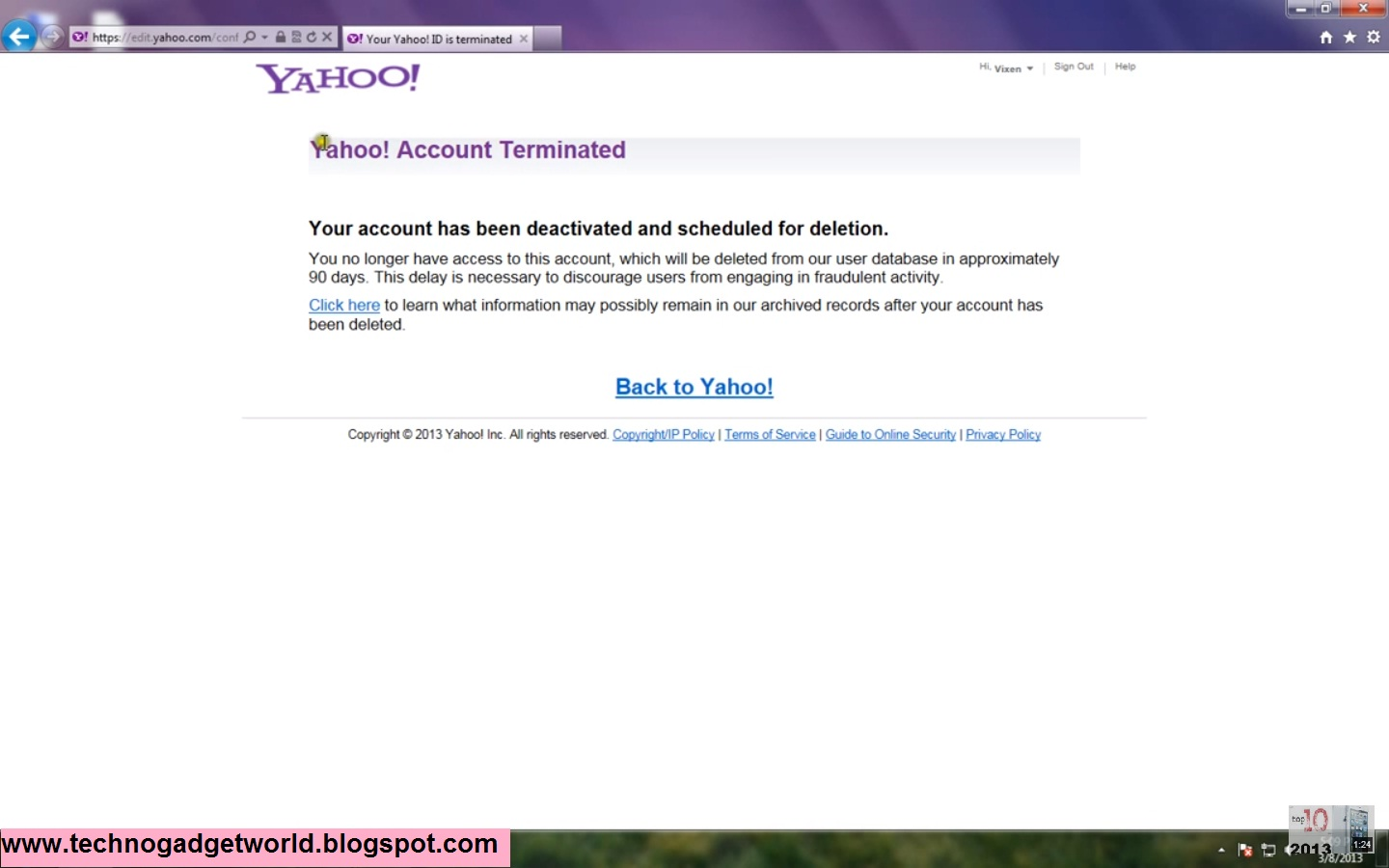 How To Delete Yahoo Account Permanently - 130.4KB