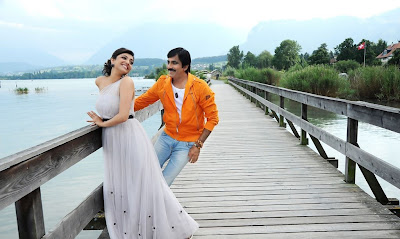 Raviteja and Kajal agarwal