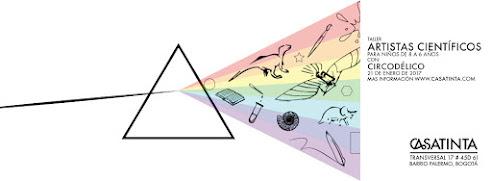 TALLER PARA NIÑOS: artistas científicos // 21 ene