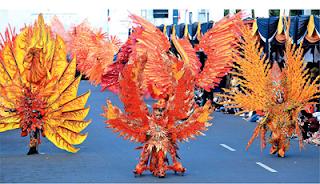 Lima Karnaval Termegah Di Indonesia