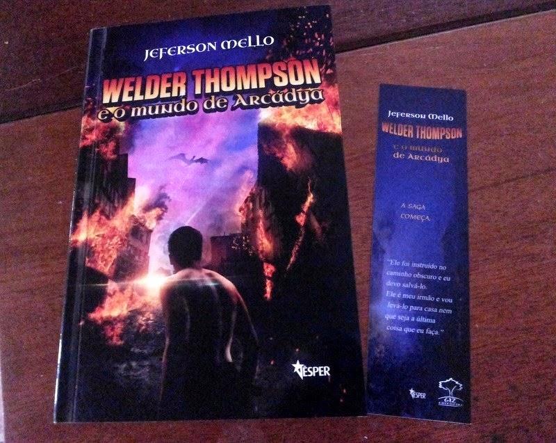 Welder Thompson e o mundo de Arcádya