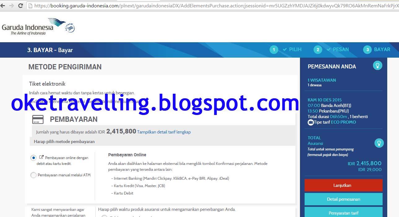 Opsi pembayaran kalkulator online