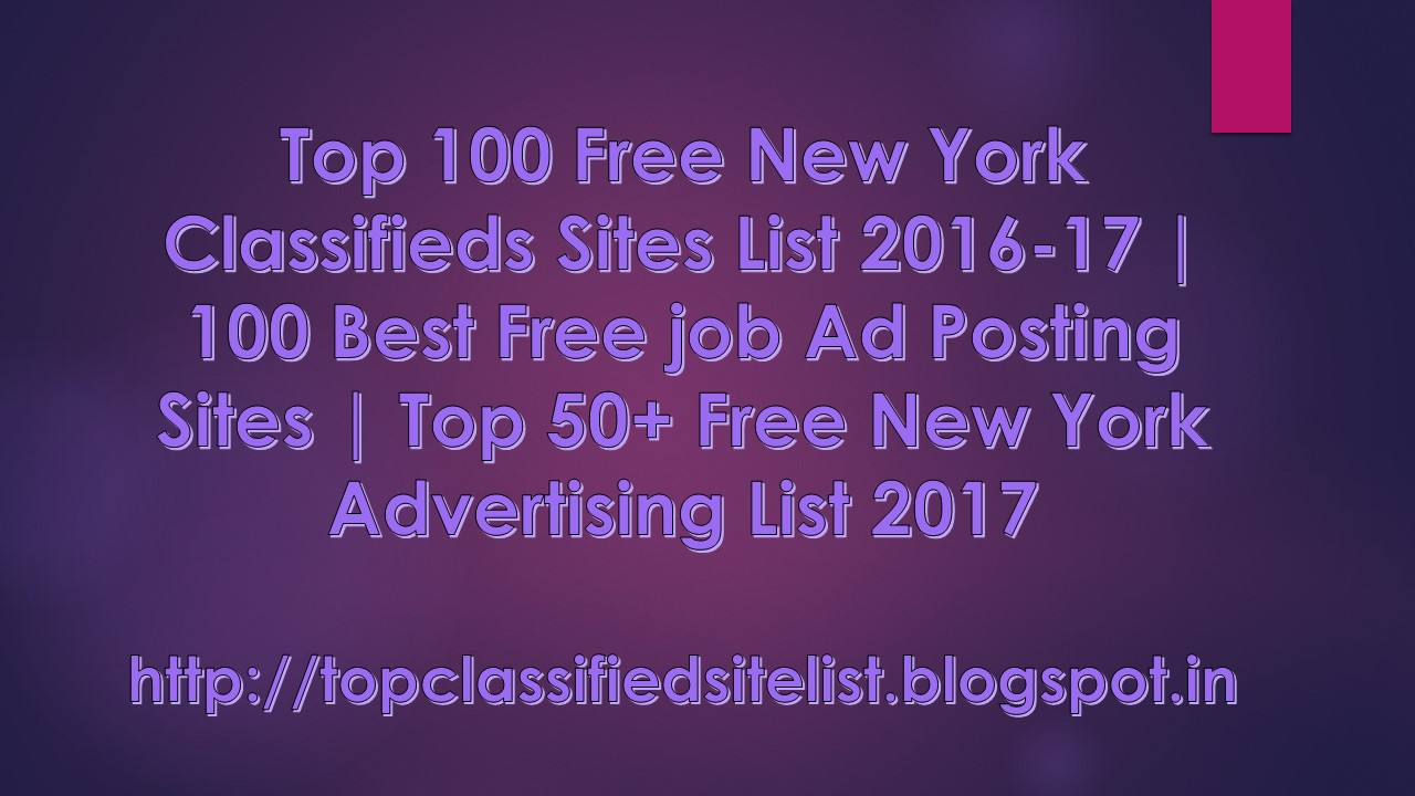 top 100 new york classifieds sites list 2016 17 100 best top 50 new york advertising list 2017