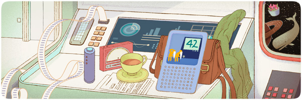 Douglas Adams 61st Birthday