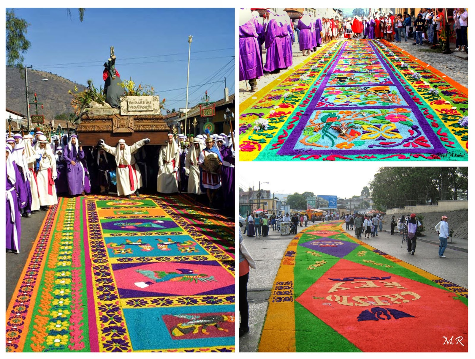 Alfombras de Semana Santa, Guatemala