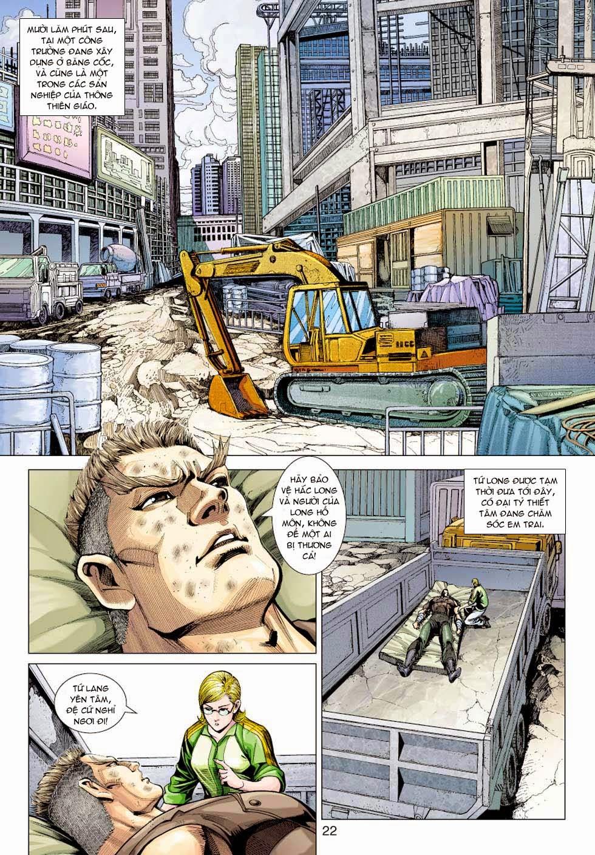 Tân Tác Long Hổ Môn chap 354 - Trang 22