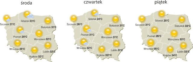 W Krakowie cieplej niż w Arabii Saudyjskiej :D