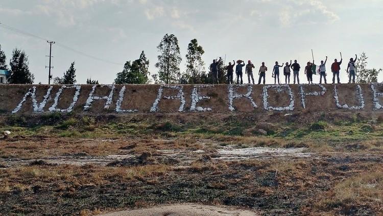¡Tierra sí, aviones no!: campesinos luchan contra la construcción de un nuevo aeropuerto en México