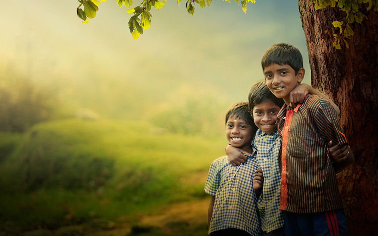 Amigos - Friends by Enjo Mathew