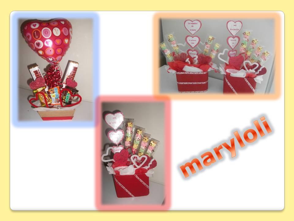 Maryloli centros de mesa san valentin for Mesa para san valentin