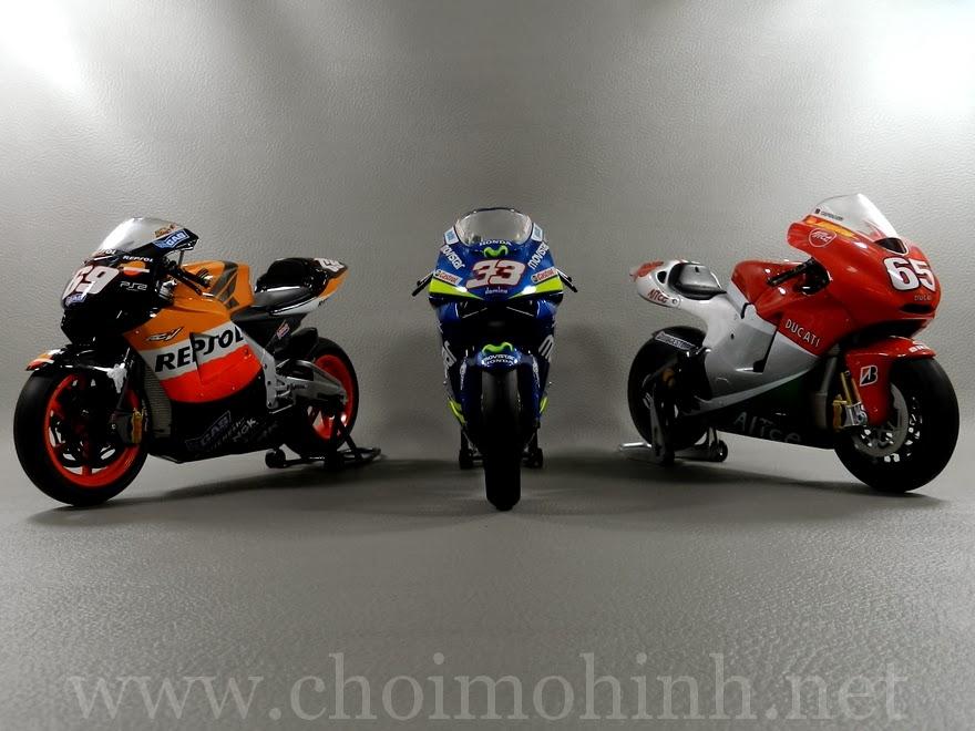 Mô hình MotoGP 500cc