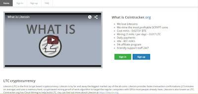 Tempat Mining Litecoin Dengan Daily Payout Di Cointracker